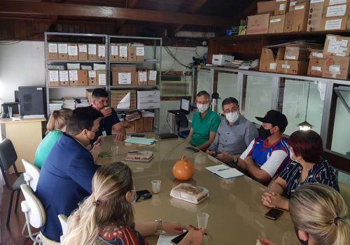 Secretários de Turismo da Região da Cebola se reúnem em Ituporanga  para debater ações conjuntas
